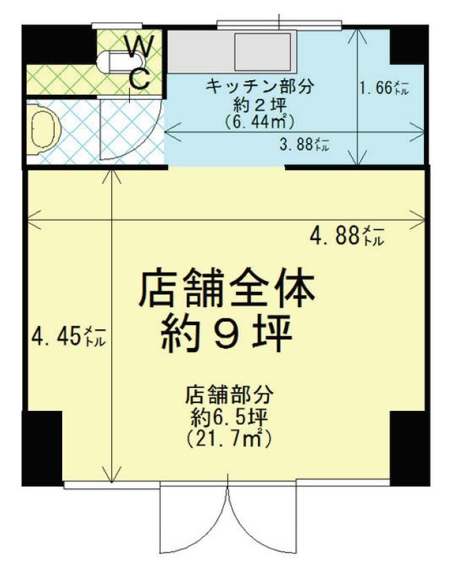 朝日ヶ丘 松浦ビル A号室